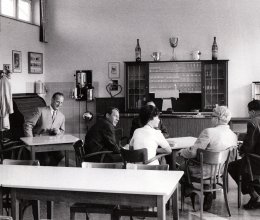 In der Eugen Reintjes Schule am 17. August 1963. Foto: Dewezet