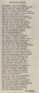 Aus der Dewezet, April 1972